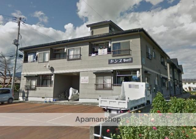 山形県西村山郡河北町の築22年 2階建の賃貸アパート