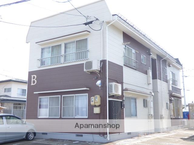 山形県天童市、高擶駅徒歩6分の築32年 2階建の賃貸アパート