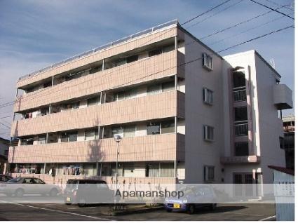 山形県米沢市、米沢駅市民バスバス10分米沢市役所前下車後徒歩10分の築24年 4階建の賃貸マンション