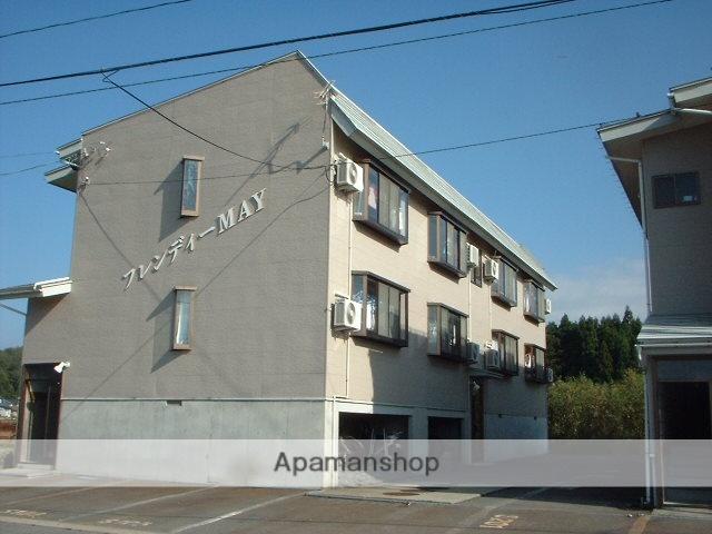 山形県米沢市、米沢駅徒歩40分の築23年 2階建の賃貸アパート