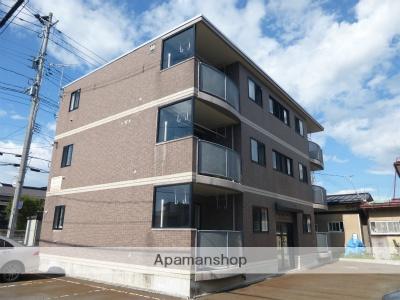 山形県米沢市、西米沢駅徒歩15分の築15年 3階建の賃貸マンション