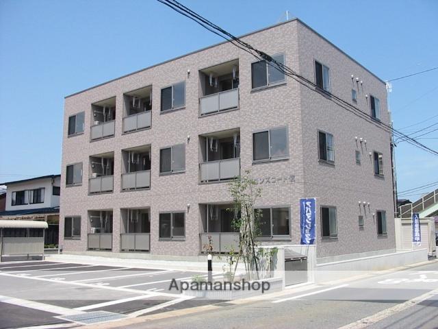 山形県米沢市、米沢駅徒歩30分の築9年 3階建の賃貸マンション