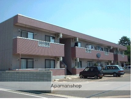 山形県米沢市、西米沢駅徒歩40分の築16年 2階建の賃貸マンション