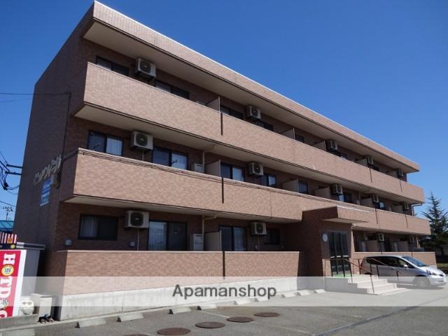山形県米沢市、南米沢駅徒歩5分の築10年 3階建の賃貸マンション