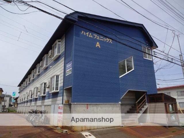 山形県米沢市の築28年 2階建の賃貸アパート