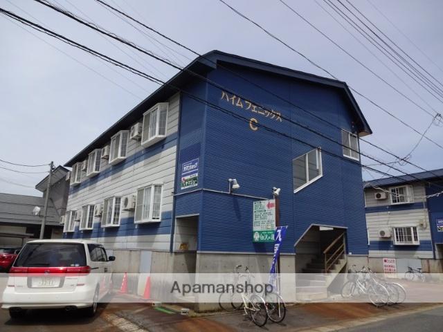 山形県米沢市の築27年 2階建の賃貸アパート
