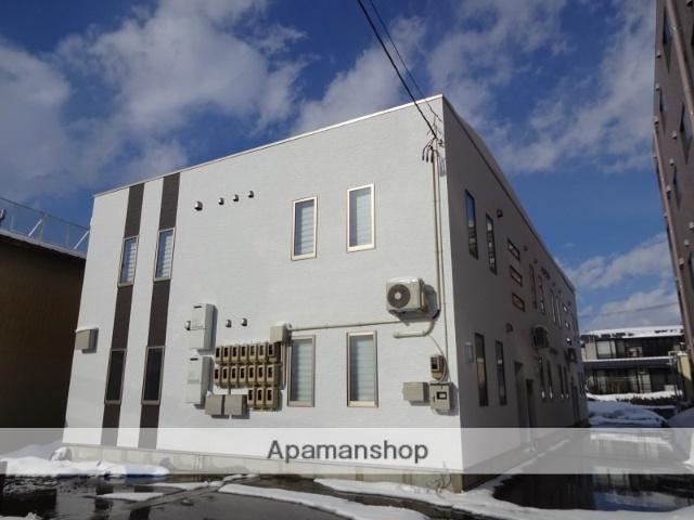 山形県米沢市、米沢駅徒歩7分の新築 2階建の賃貸アパート