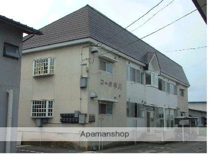 山形県米沢市、米沢駅徒歩10分の築28年 2階建の賃貸アパート