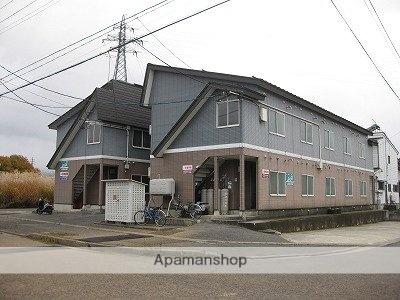 山形県米沢市、米沢駅市民バスバス15分通町2丁目下車後徒歩3分の築20年 2階建の賃貸アパート