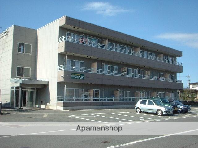 山形県米沢市、米沢駅徒歩30分の築22年 3階建の賃貸マンション
