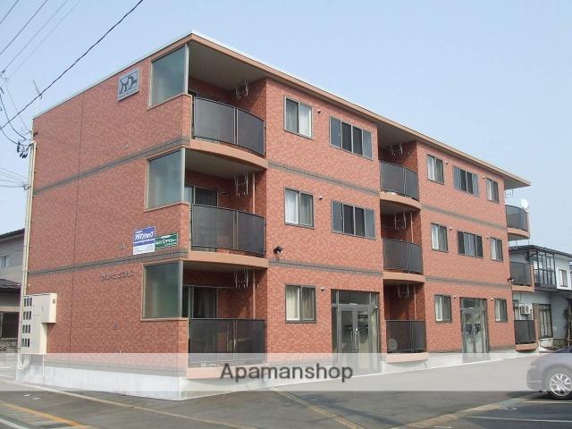 山形県米沢市、米沢駅徒歩5分の築11年 3階建の賃貸マンション