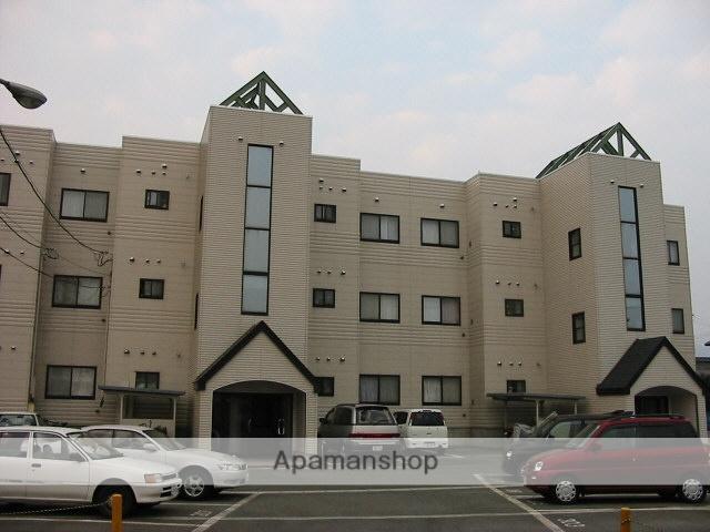 山形県米沢市、米沢駅徒歩54分の築20年 3階建の賃貸マンション