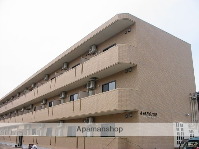 山形県米沢市、米沢駅徒歩12分の築10年 3階建の賃貸マンション