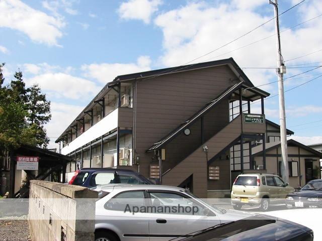 山形県米沢市、南米沢駅徒歩5分の築31年 2階建の賃貸アパート