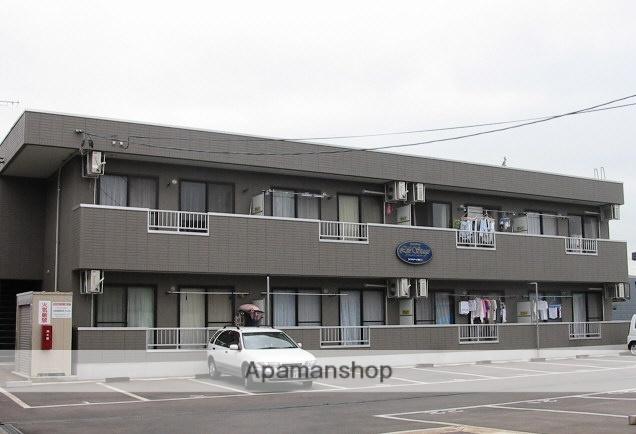 山形県米沢市、米沢駅市民バスバス20分サティー前下車後徒歩3分の築19年 2階建の賃貸アパート