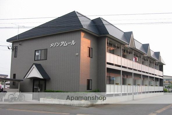 山形県米沢市、西米沢駅山交バスバス20分塩井団地前下車後徒歩3分の築18年 2階建の賃貸アパート