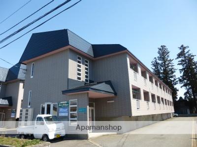 山形県米沢市、南米沢駅徒歩10分の築20年 2階建の賃貸アパート