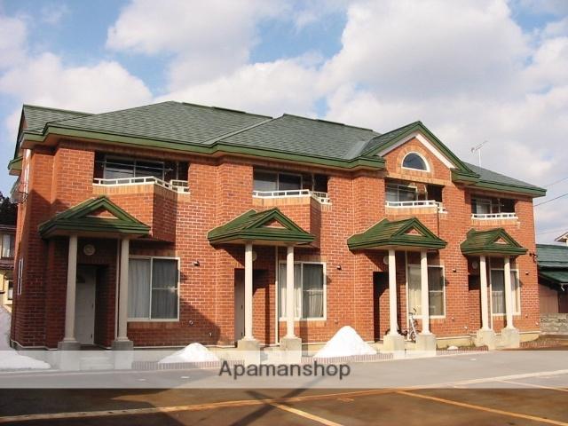 山形県米沢市、西米沢駅徒歩10分の築10年 2階建の賃貸アパート