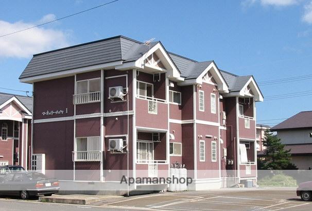 山形県米沢市、米沢駅山形交通バス30分北産業通下車後徒歩5分の築21年 2階建の賃貸アパート