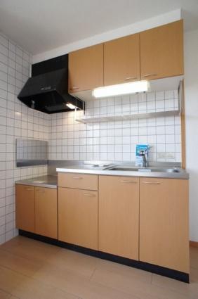 メゾン・ド・プレステージ[2DK/54.96m2]のキッチン