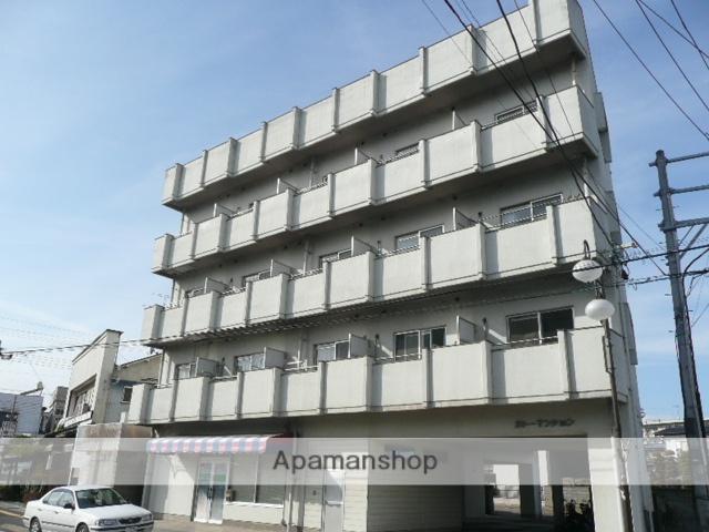 福島県福島市、南福島駅徒歩3分の築27年 4階建の賃貸マンション