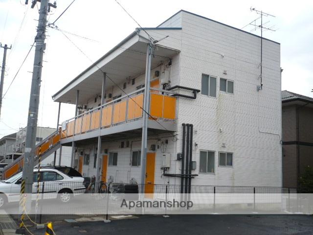 福島県福島市、南福島駅徒歩12分の築30年 2階建の賃貸アパート