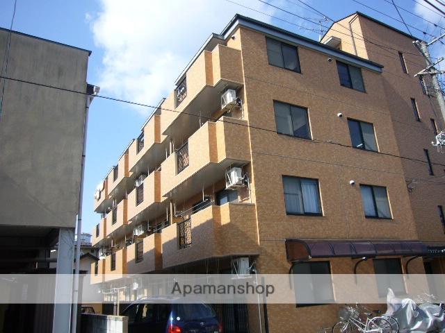 福島県福島市、福島駅徒歩16分の築20年 4階建の賃貸マンション
