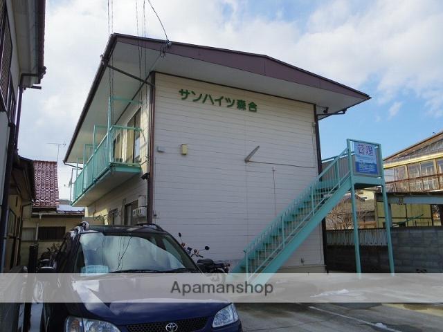 福島県福島市、美術館図書館前駅徒歩9分の築32年 2階建の賃貸アパート