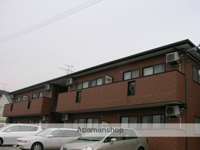 福島県福島市の築13年 2階建の賃貸アパート