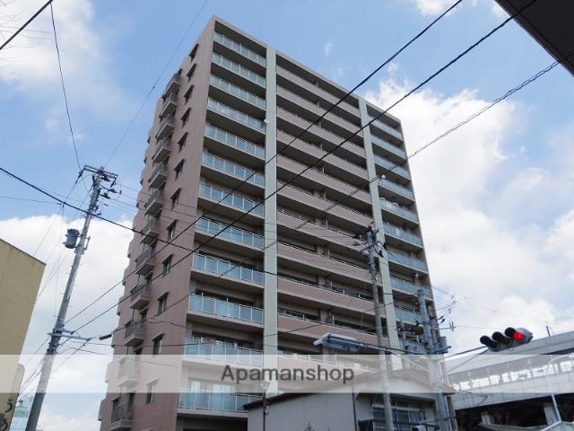 福島県福島市、福島駅徒歩3分の築10年 14階建の賃貸マンション