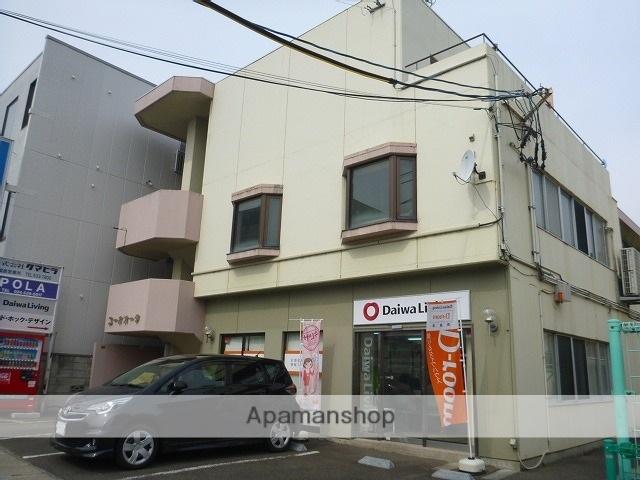 福島県福島市、福島駅徒歩10分の築31年 3階建の賃貸マンション