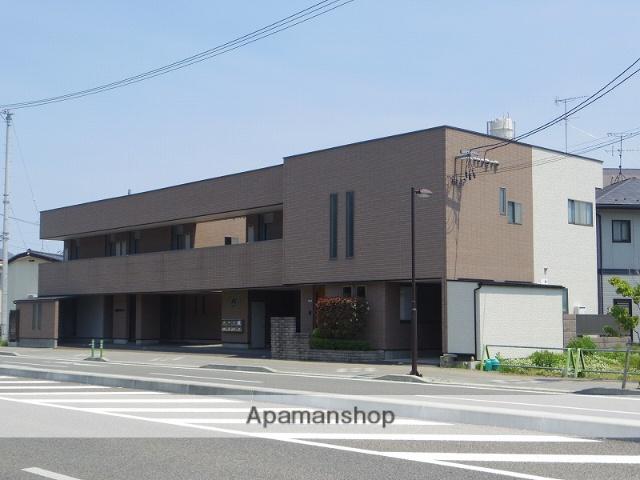 福島県福島市の築17年 2階建の賃貸アパート