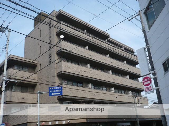 福島県福島市、福島駅徒歩17分の築31年 7階建の賃貸マンション