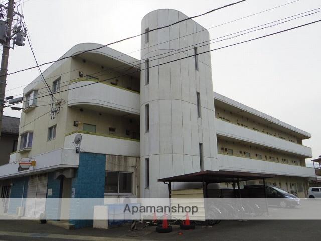 福島県福島市、福島駅徒歩9分の築30年 3階建の賃貸マンション