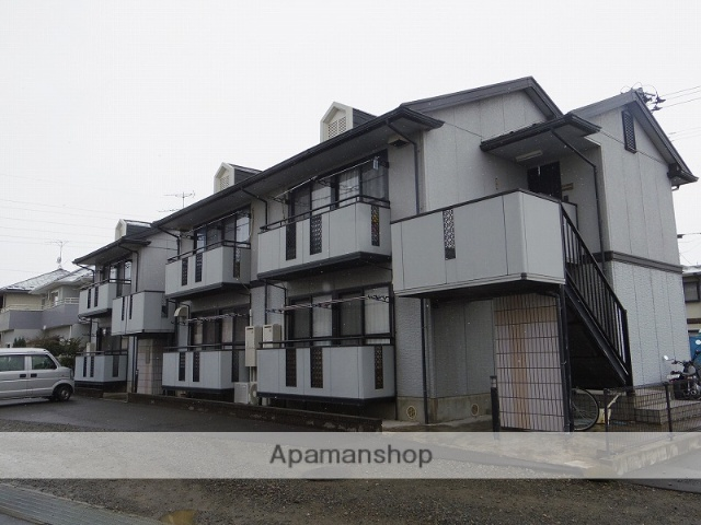 福島県福島市、南福島駅徒歩16分の築21年 2階建の賃貸アパート
