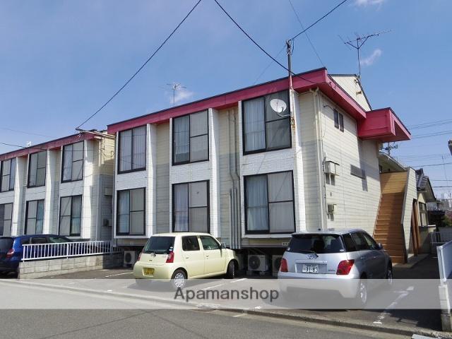 福島県福島市、福島駅徒歩11分の築27年 2階建の賃貸アパート