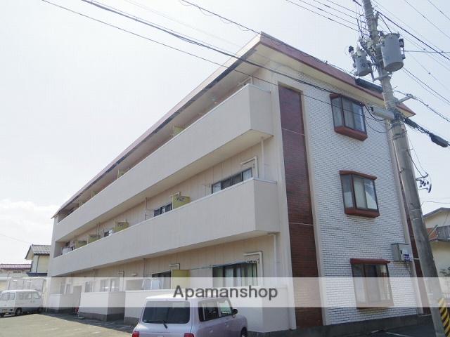 福島県福島市、福島駅徒歩18分の築36年 3階建の賃貸アパート