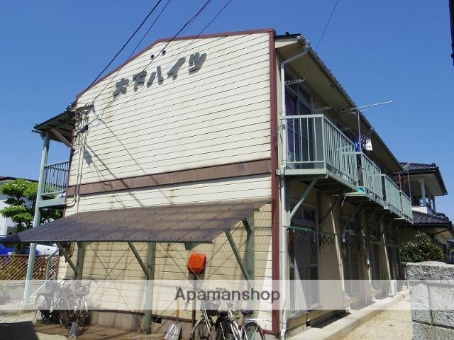 福島県福島市の築33年 2階建の賃貸アパート