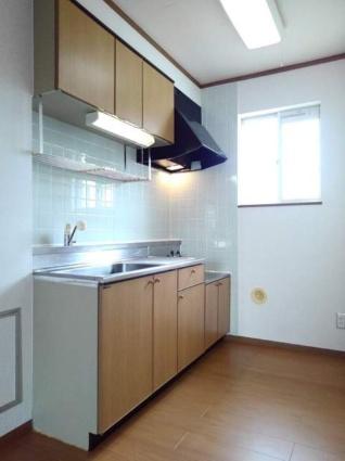 パークハイグランドⅡ[3LDK/65.57m2]のキッチン