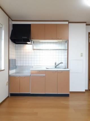 ポワクールⅠ[2LDK/58.12m2]のキッチン
