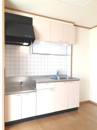シャン・ド・ポワール[2LDK/51.67m2]のキッチン