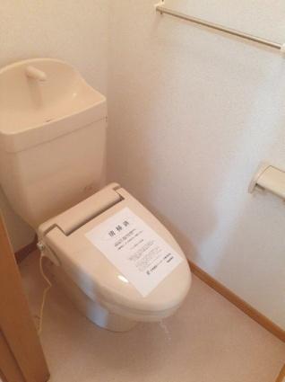 シャン・ド・ポワール[2LDK/51.67m2]のトイレ