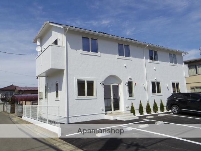 福島県福島市、福島駅福島交通バス7分北の内下車後徒歩5分の新築 2階建の賃貸アパート