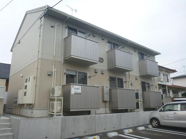 福島県福島市の新築 2階建の賃貸アパート