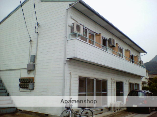 福島県福島市、美術館図書館前駅徒歩6分の築32年 2階建の賃貸アパート