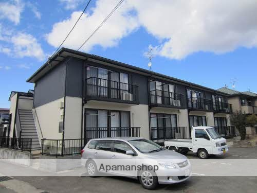 福島県伊達郡川俣町の築19年 2階建の賃貸アパート