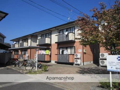 福島県福島市、卸町駅徒歩15分の築18年 2階建の賃貸アパート