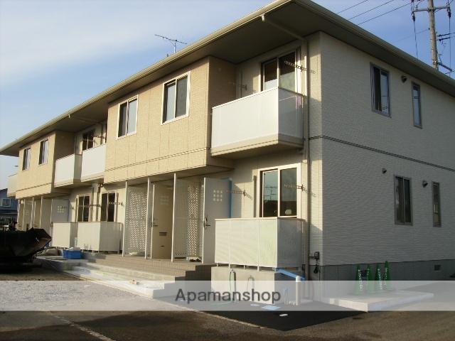 福島県福島市、医王寺前駅徒歩2分の築7年 2階建の賃貸アパート
