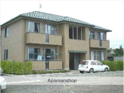 福島県伊達市の築15年 2階建の賃貸アパート