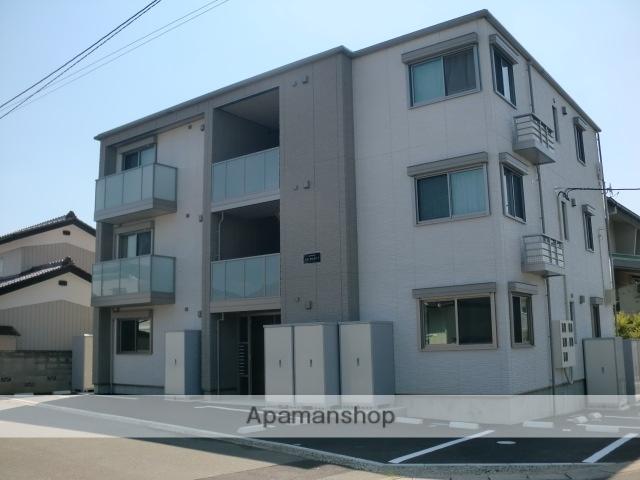 福島県福島市の築1年 3階建の賃貸アパート